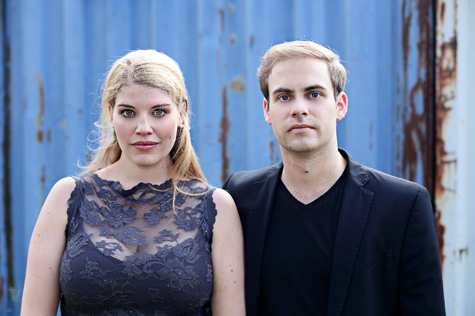 Künstlerportrait Neele Kramer und Philipp Heiß von Fotograf Nicolas Kröger